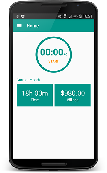 android time tracker